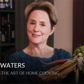 Farm-to-table cooking with Alice Waters