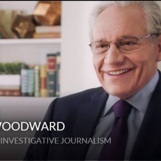 Find the real story with Bob Woodward