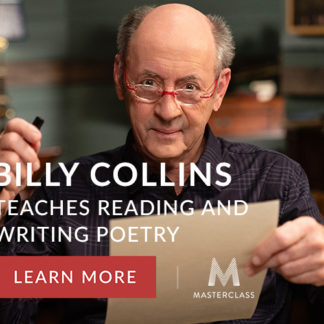 Billy Collins Teaches Reading Writing Poetry